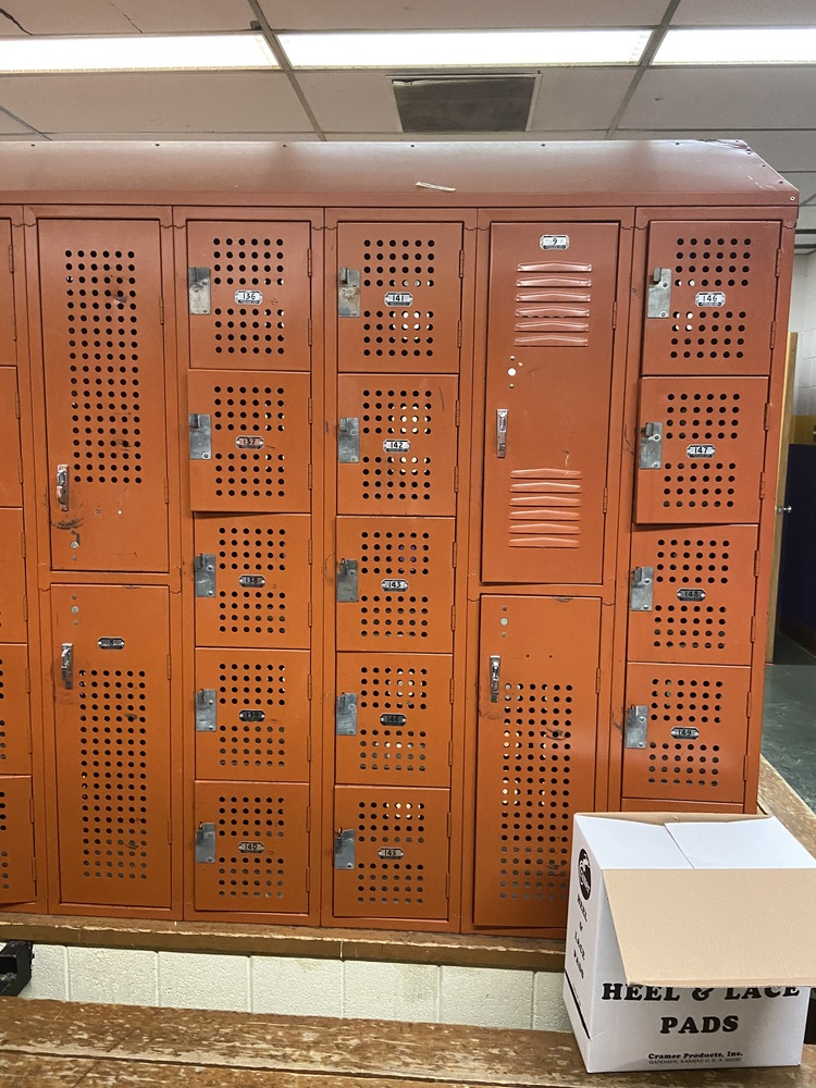OHS Gym Locker Retirement!